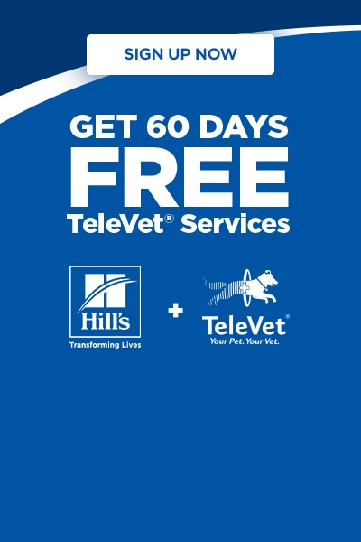 Get 60 Days Free TeleVet® Services